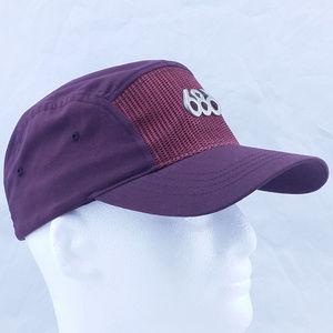 686 5 Panel Hat Maroon
